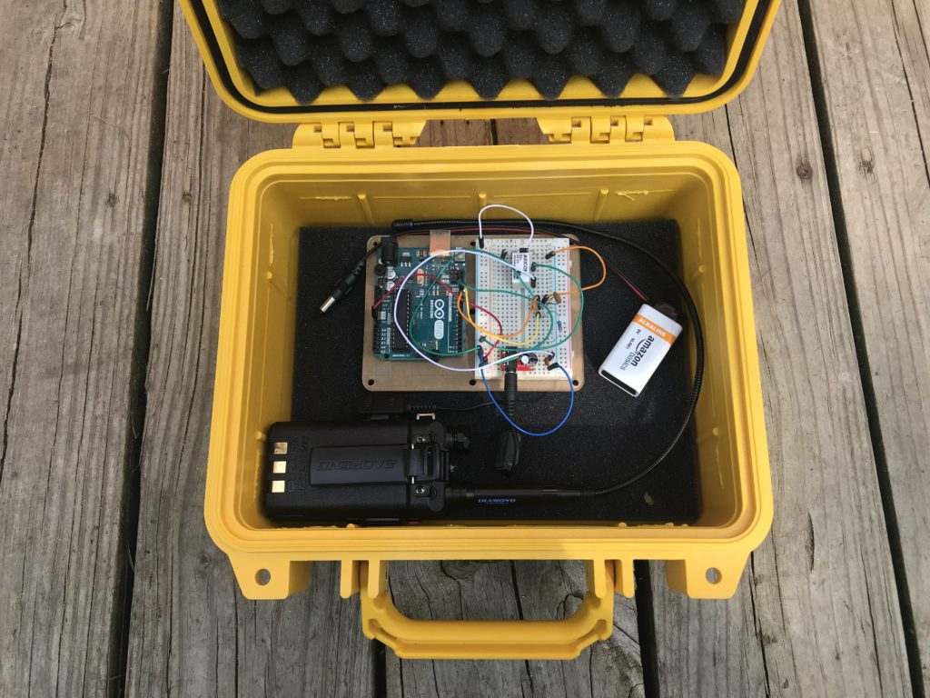 homemade fox transmitter