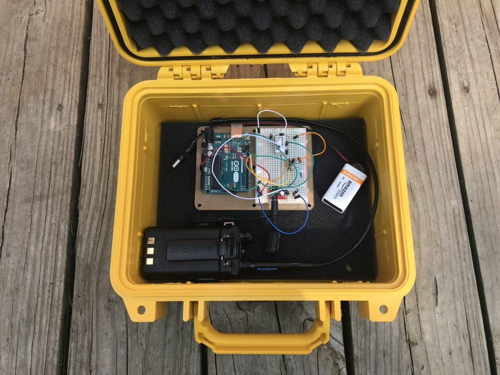 homemade fox transmitter